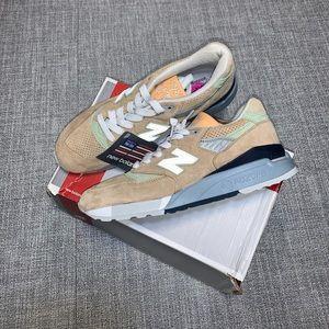 New Balance 998 tan mint